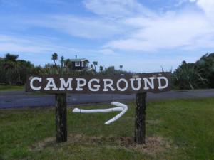 OKarito Camp grounds